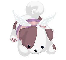 Fluffal Dog - Yu-Gi-Oh! Photographic Print