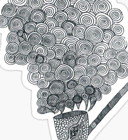 Halflings' pipe Sticker
