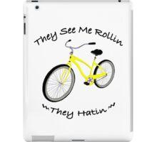 Yellow Bike iPad Case/Skin