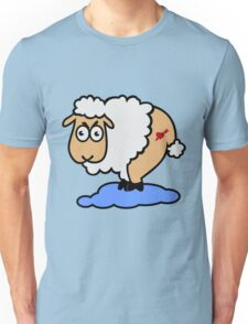 Sexy Sheep in Sheep heaven VRS2 T-Shirt