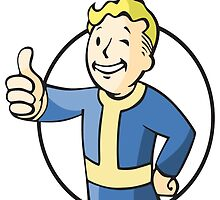 Fallout Vault Boy by martdude
