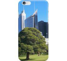 Royal Botanic Gardens Sydney iPhone Case/Skin