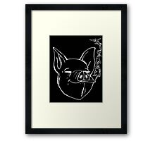 double smoked ham Framed Print
