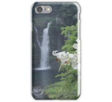 Lillies and Falls iPhone Case/Skin