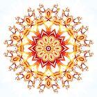 Fractal Flower Kaleidoscope by fantasytripp