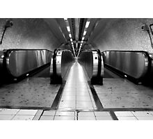 The Roman Metro - Moving Walkways Photographic Print