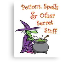 Agatha's Potions and Spells Canvas Print