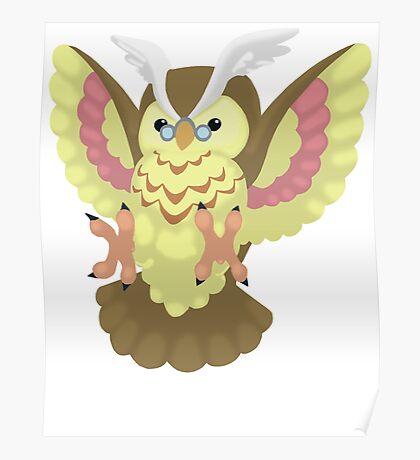 Fluffal Owl - Yu-Gi-Oh! Poster