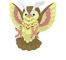 Fluffal Owl - Yu-Gi-Oh! Photographic Print