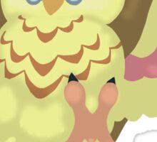 Fluffal Owl - Yu-Gi-Oh! Sticker