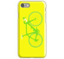 Bike Green (Big) iPhone Case/Skin