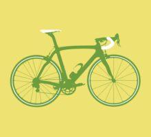 Bike Green (Big) Kids Tee