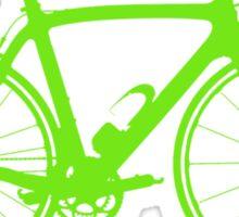 Bike Green (Big) Sticker