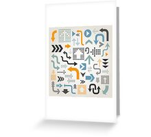 Arrow collection Greeting Card