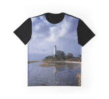 St. Marks Lighthouse, Florida Graphic T-Shirt
