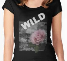 Be wild and bloom Women's Fitted Scoop T-Shirt