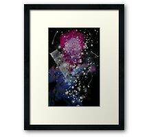 Brush and Ink - 0282 - Glitter and Glam Framed Print