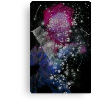Brush and Ink - 0282 - Glitter and Glam Canvas Print