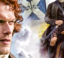 way to freedom Scotland Sticker