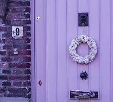Violet Door - Travel Photography by JuliaRokicka