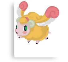 Fluffal Sheep - Yu-Gi-Oh! Canvas Print