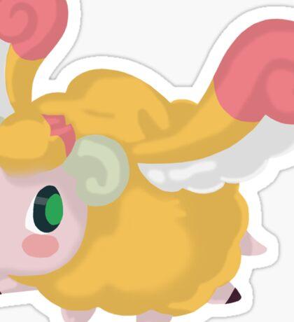 Fluffal Sheep - Yu-Gi-Oh! Sticker
