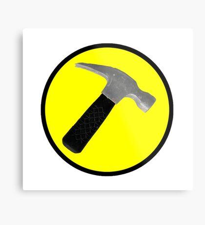 captain hammer Metal Print
