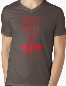 Boys Will Be Held Accountable For Their Actions Mens V-Neck T-Shirt