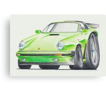 Porsche 911 Targa by Glens Graphix Canvas Print