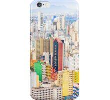 Buildings in Sao Paulo, Brazil iPhone Case/Skin
