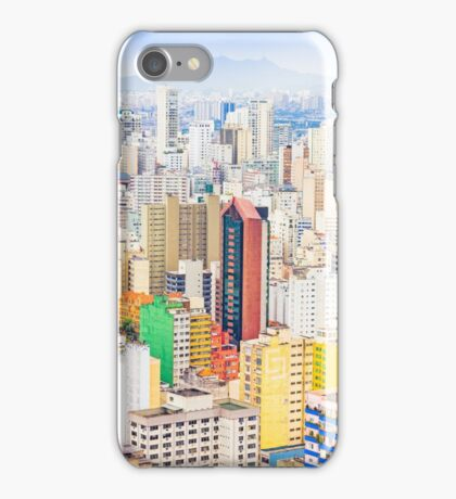 Buildings in Sao Paulo, Brazil iPhone Case/Skin