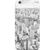 View of Sao Paulo, Brazil iPhone Case/Skin