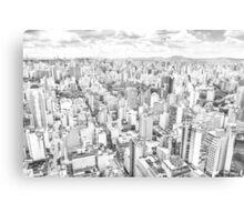 View of Sao Paulo, Brazil Canvas Print