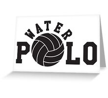 Water polo Greeting Card