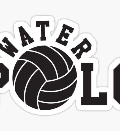 Water polo Sticker