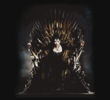 Regina Mills - Iron Throne by Hrern1313