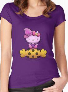 Hello Halloween   Women's Fitted Scoop T-Shirt