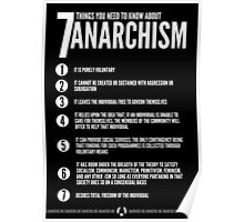 Seven Things You Need To Know About Anarchism Poster