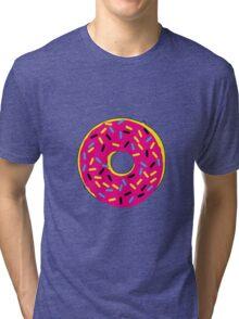 Donut CMYK Tri-blend T-Shirt
