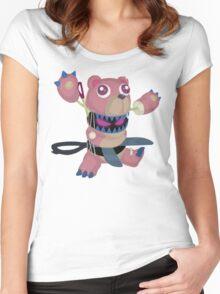 Frightfur Bear - Yu-Gi-Oh! Women's Fitted Scoop T-Shirt