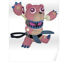 Frightfur Bear - Yu-Gi-Oh! Poster