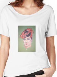 Cancer Chiffon top Morphine Art Women's Relaxed Fit T-Shirt