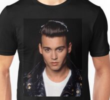 Young Johnny Depp Unisex T-Shirt