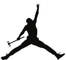 Croquet Jump Man Photographic Print