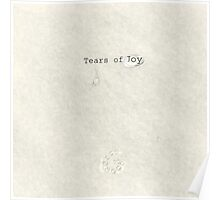 Tears of Joy Poster