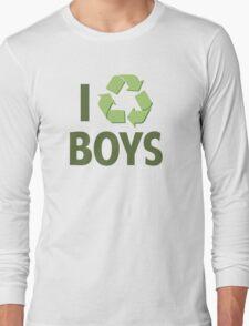 I Recycle Boys Long Sleeve T-Shirt