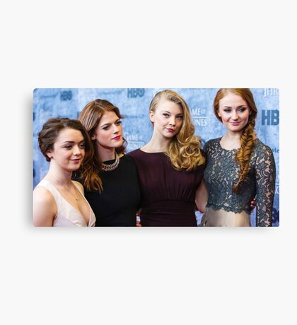 game of thrones girls  Canvas Print