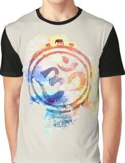 colorful ohm elephant logo Graphic T-Shirt
