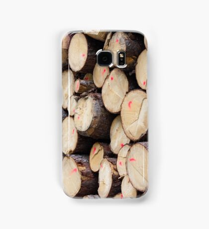 tree trunk Samsung Galaxy Case/Skin