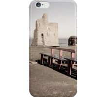 benches and path to Ballybunion beach iPhone Case/Skin